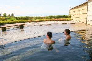 富士見温泉露天風呂